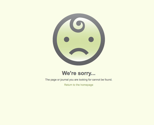Оформление страницы 404