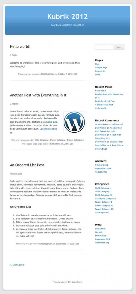 Kubrik-2012-Old-Style-WordPress-Theme