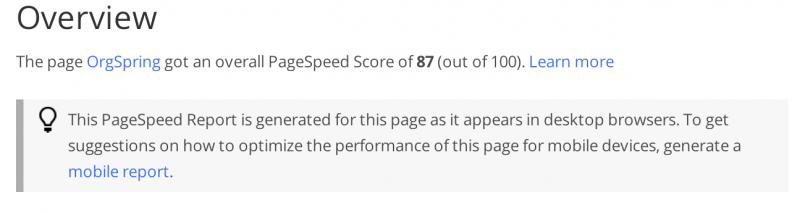 Page-Speed-After-WP-Minify-800x213