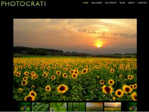 Photocrati предлагает различные темы для фотографов