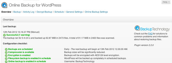 online-backup-for-wordpress