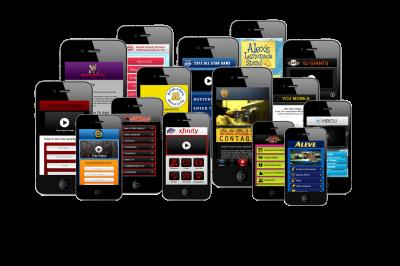 Многочисленные мобильные приложения