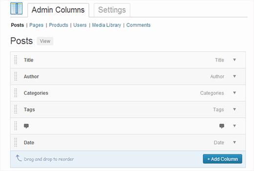 wp-admin-columns