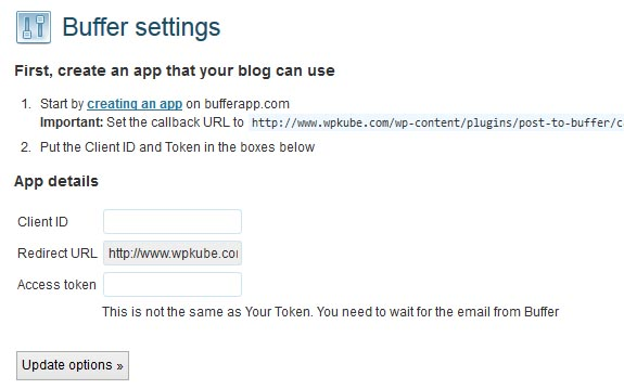 WordPress-to-Buffer-settings-page