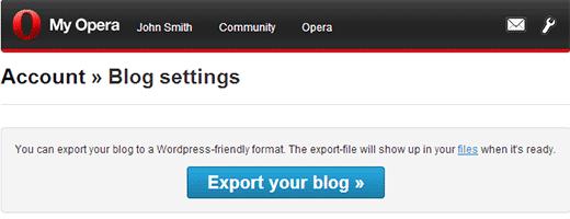 exportmyoperablog