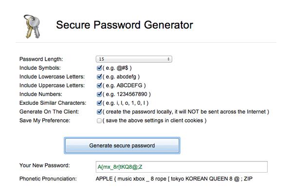 secure-password-generator