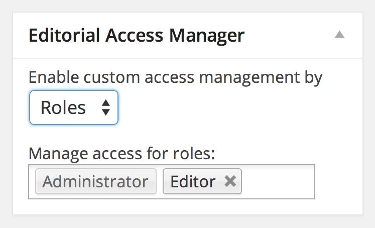 editorial-access-manager
