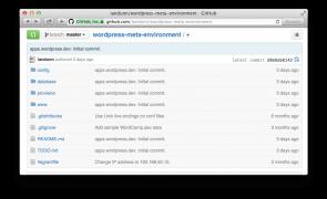 wordpress-meta-environment