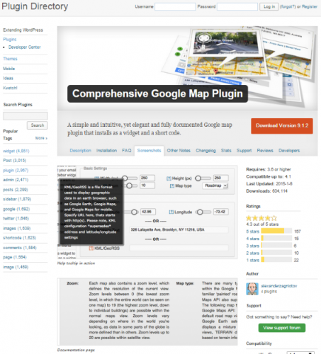 Comprehensive-Google-Map-Plugin