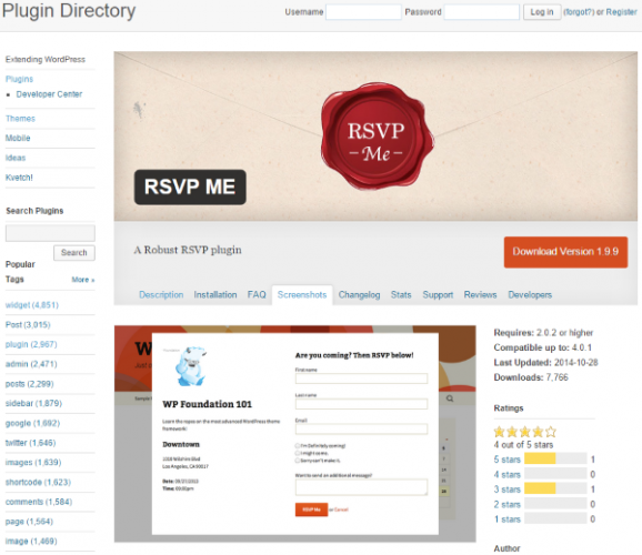 WordPress-RSVP-ME