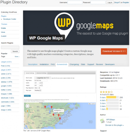 WordPress-WP-Google-Maps