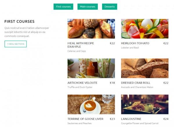 auberge-menu