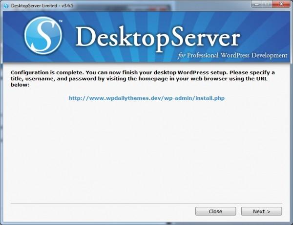10-DesktopServer-Configuration-Complete