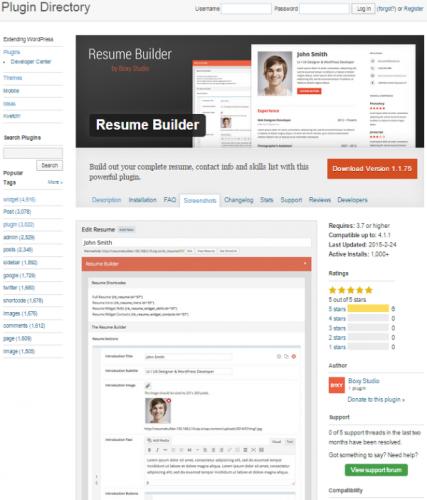 Resume-Builder