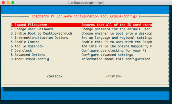 raspberry-pi-configuration-screenshot