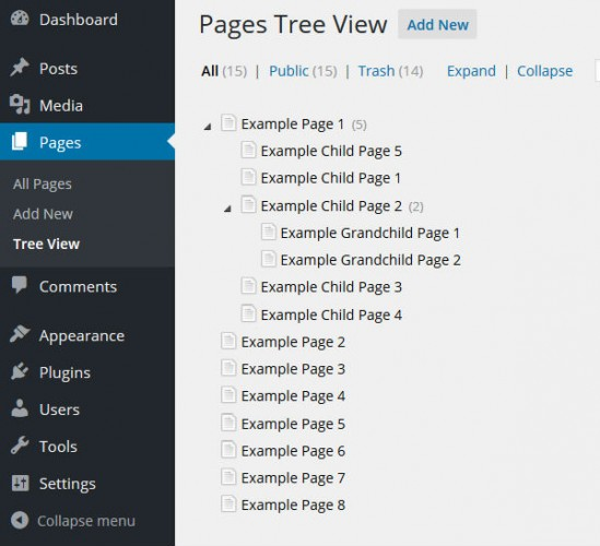 CMS-Tree-Page-View-screenshot