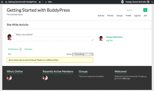 buddypress-home-page-with-widgets