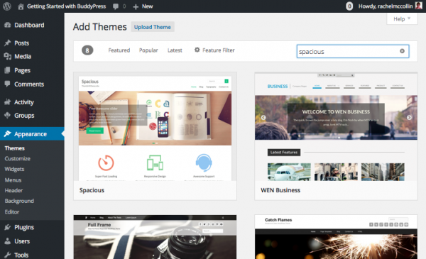 buddypress-selecting-theme