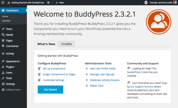 buddypress-welcome-screen