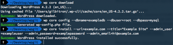 install-wordpress-cli