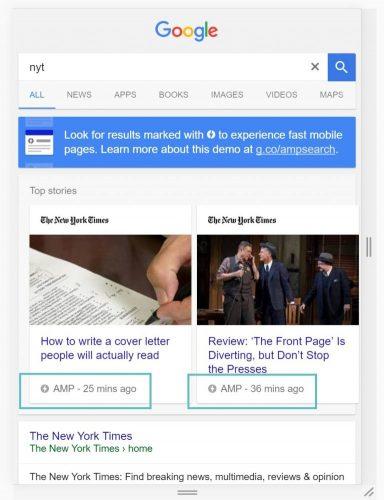 google-amp-example