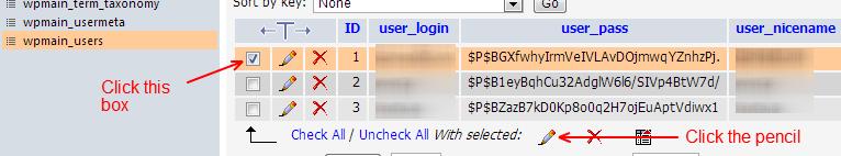 Portable-phpMyAdmin-Select-User-To-Modify