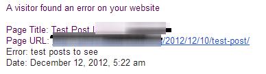 WordPress-Error-Reporting-Plugin-Email-Notification