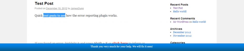 WordPress-Error-Reporting-Plugin-Error-Reported-Thank-You-Message-1024x215