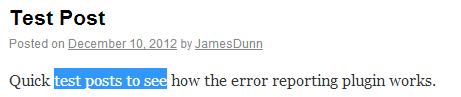 WordPress-Error-Reporting-Plugin-Highlighting-An-Error
