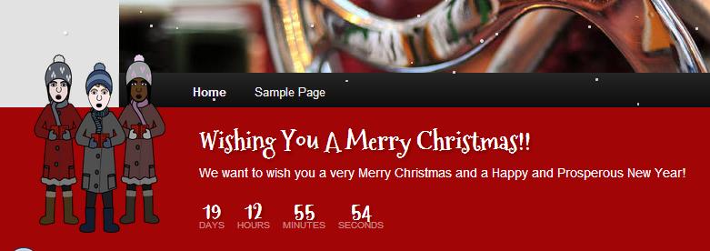 WordPress-Holiday-Message-Christmas-Plugin