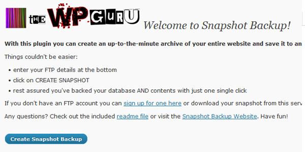snapshot-backup