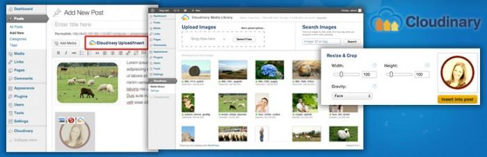 Управление изображениями в CDN Cloudinary