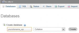 config-wp-database