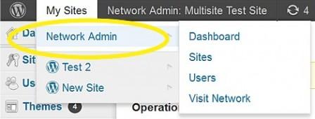Супер Администратор имеет доступ ко всей сети