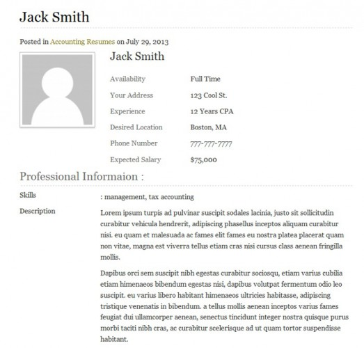 templaticjobboard-single-resume