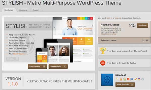 Stylish-Metro-Inspired-WordPress-Theme