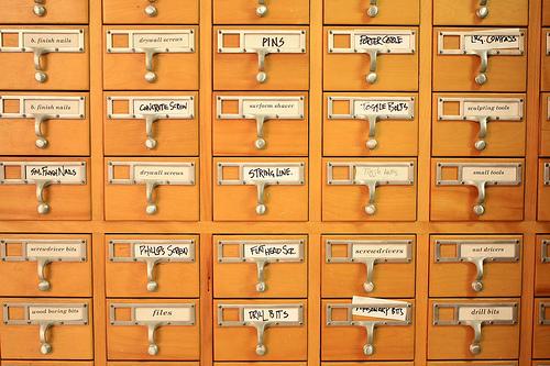 Библиотечный каталог - прародитель современных каталогов статей