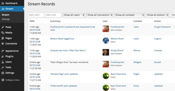 stream-records