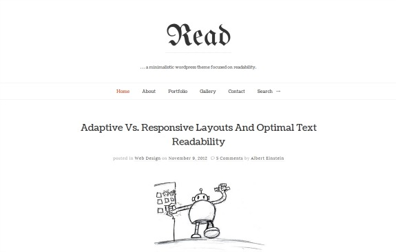 read-wordpress-theme