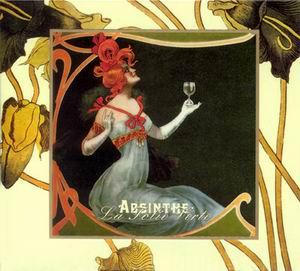 """Обложка альбома """"Absinthe - La Folie Verte"""""""