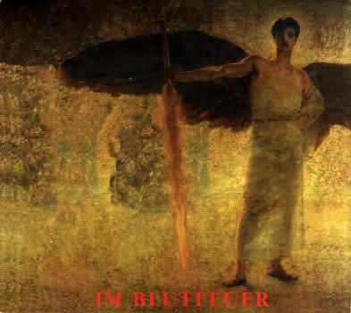 "Обложка сборника ""Im Blutfeuer"""