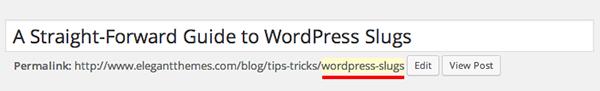 WordPress-Slugs-first-example