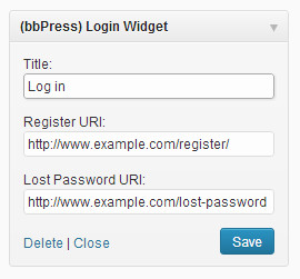 bbpress-login-widget
