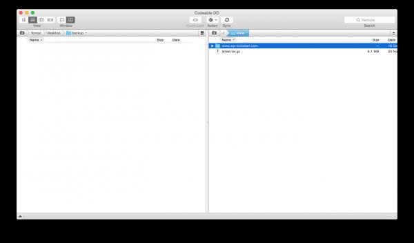WordPress-install-ftp-transmit