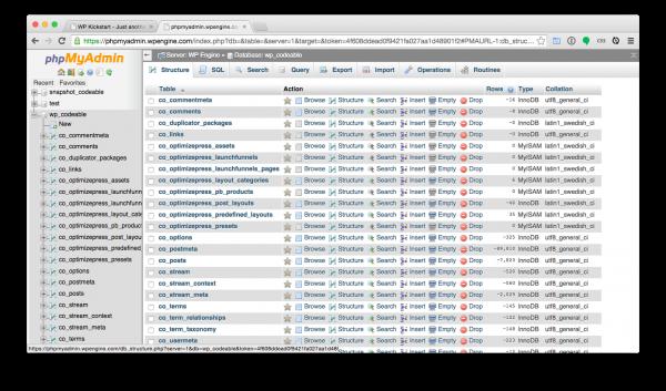 WordPress-install-phpmyadmin