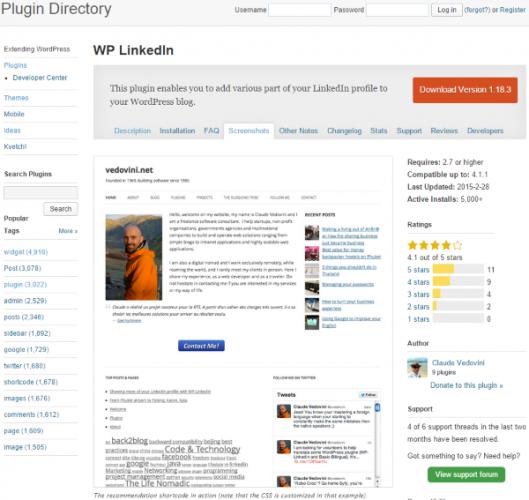 WP-LinkedIn