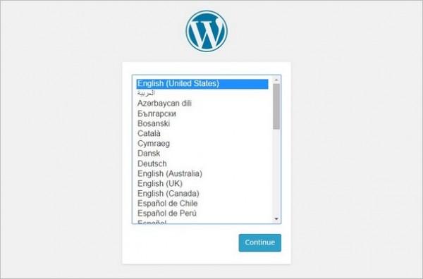 WordPress-Language