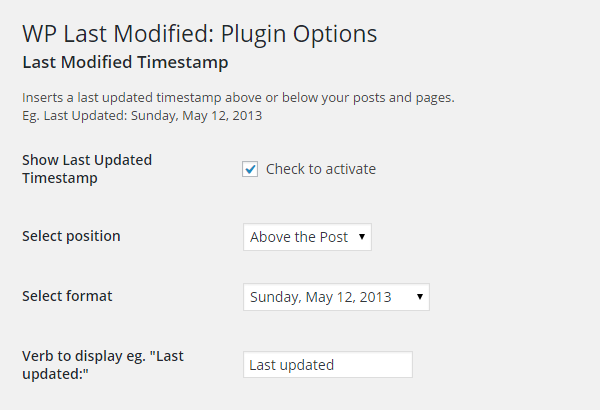 WP-Last-Modified-Settings