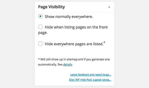 page-visibility