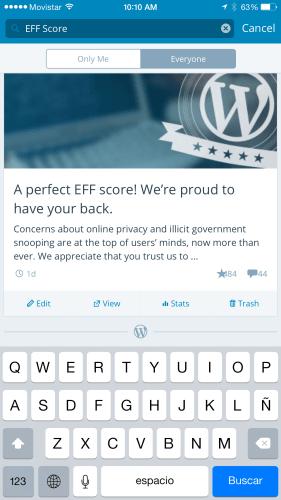WordPressForIos53Search